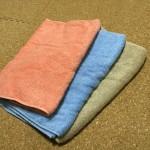 使いきる暮らしを実現させてくれるタオルを直販店ヒオリエさんで購入しました。