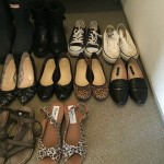 私の靴の所有数はこれくらい。