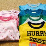 子ども服も使いきる暮らしで管理が楽になりました。