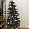 ニトリのクリスマスツリーを飾りました!