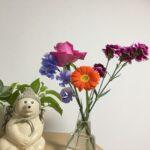 お花のある生活は心が癒される